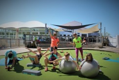 fitness- circuit training- body work out